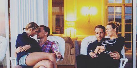 taylor swift tom hiddleston instagram official photo
