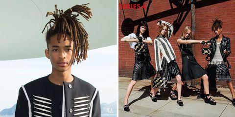 Dress, Style, Fashion, Street fashion, Black hair, Youth, Pattern, Design, One-piece garment, Vintage clothing,