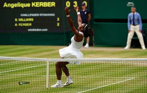 Human, Sports equipment, Sport venue, Grass, Green, Daytime, Racketlon, Human leg, Tennis player, Tennis,
