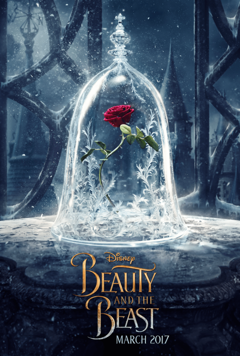 First Beauty And The Beast Movie Poster Revealed Beauty And The Beast Official Poster Throwback