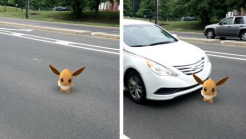17 Hilarious Pictures People Have Taken While Playing Pokémon Go