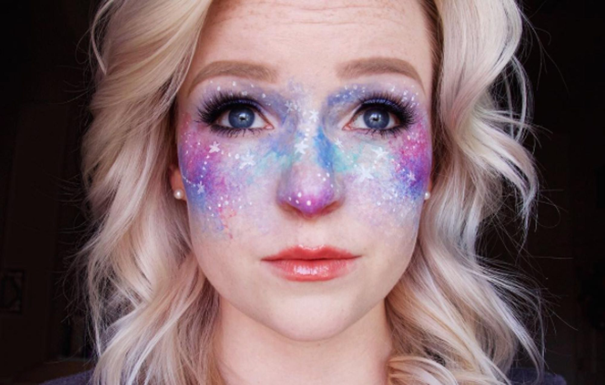 20 photos of galaxy faux freckles galaxy makeup ccuart Choice Image