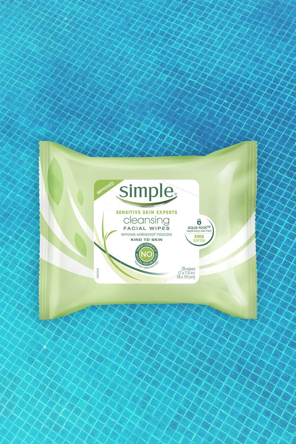 """<p>There are few things more satisfying than taking off a day's worth of makeup and gunk in a few easy swipes — while lying in bed. That's the beauty of face wipes! But just when you thought towelettes couldn't get any easier or convenient to use, Simple goes and upgrades its wipes. The new version is made with softer fibers, and updated packaging so your wipes won't dry out — even when you're down to the last one in the pack.</p><p><em><a href=""""http://bit.ly/2acDDnd"""" target=""""_blank"""">Simple Cleansing Facial Wipes</a>, $5.99 </em><br></p>"""