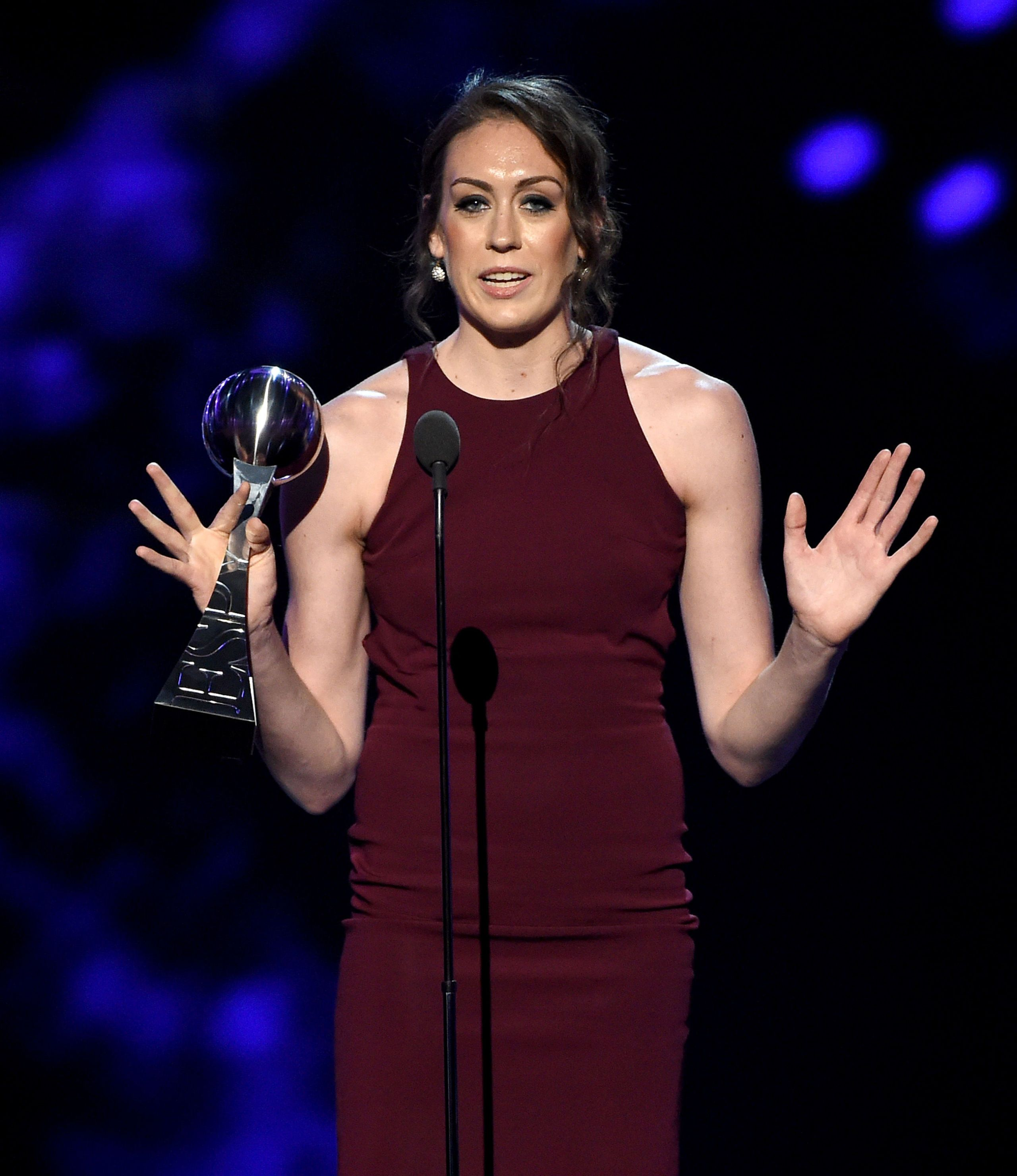 This WNBA Player Just Demanded Gender Equality in Sports at the ESPYS