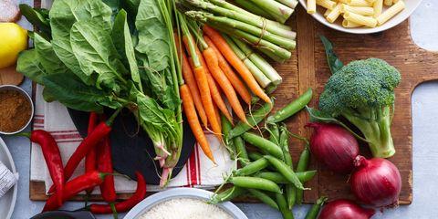 Vegan nutrition, Whole food, Local food, Food, Produce, Natural foods, Root vegetable, Vegetable, Ingredient, Leaf vegetable,