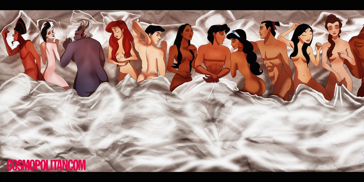 """If Kanye West Cast Disney Princesses in """"Famous"""""""
