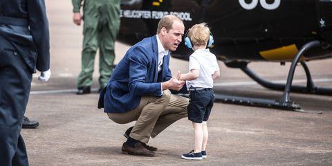 prince william parenting trick