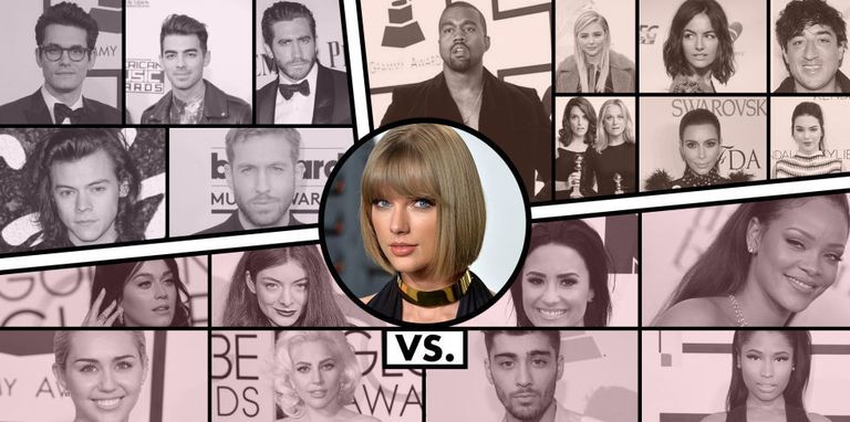 The Complete History of Everyone Who's Had Bad Blood With Taylor Swift
