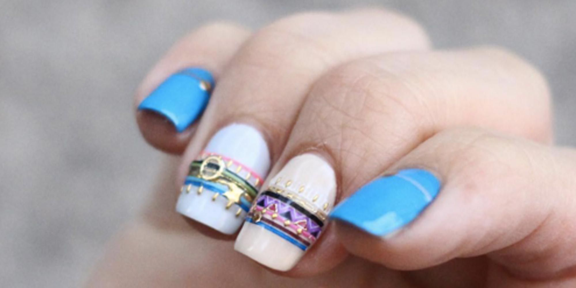 People Are Seriously Freaking Out Over the Bracelet Nail Trend