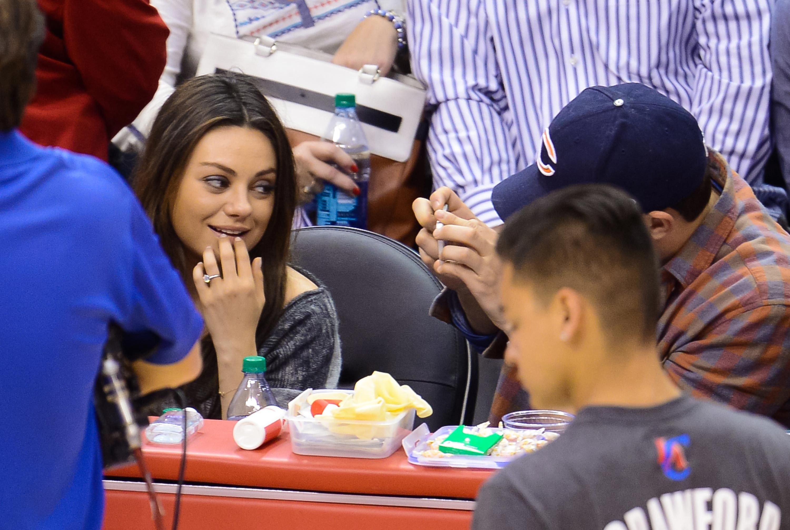 Mila Kunis Bought Her Wedding Ring On Etsy And Only Spent 90