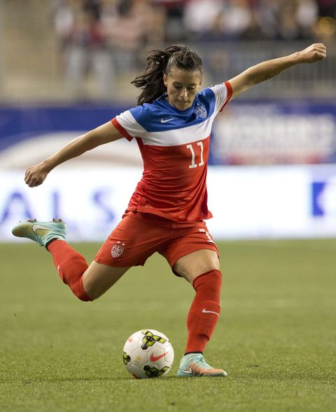 what is the diet of female soccer player
