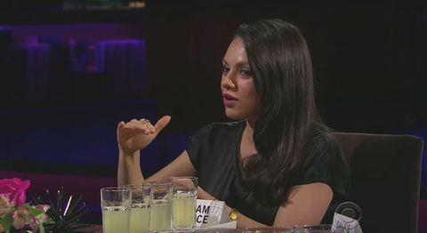 Mila Kunis Describes Ashton Kutchers Penis Mila Kunis On The Late