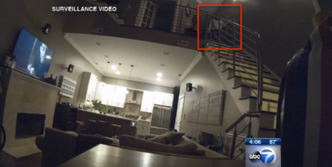 Prepare to Be Totally Creeped Out by This Security Footage of a Home Intruder