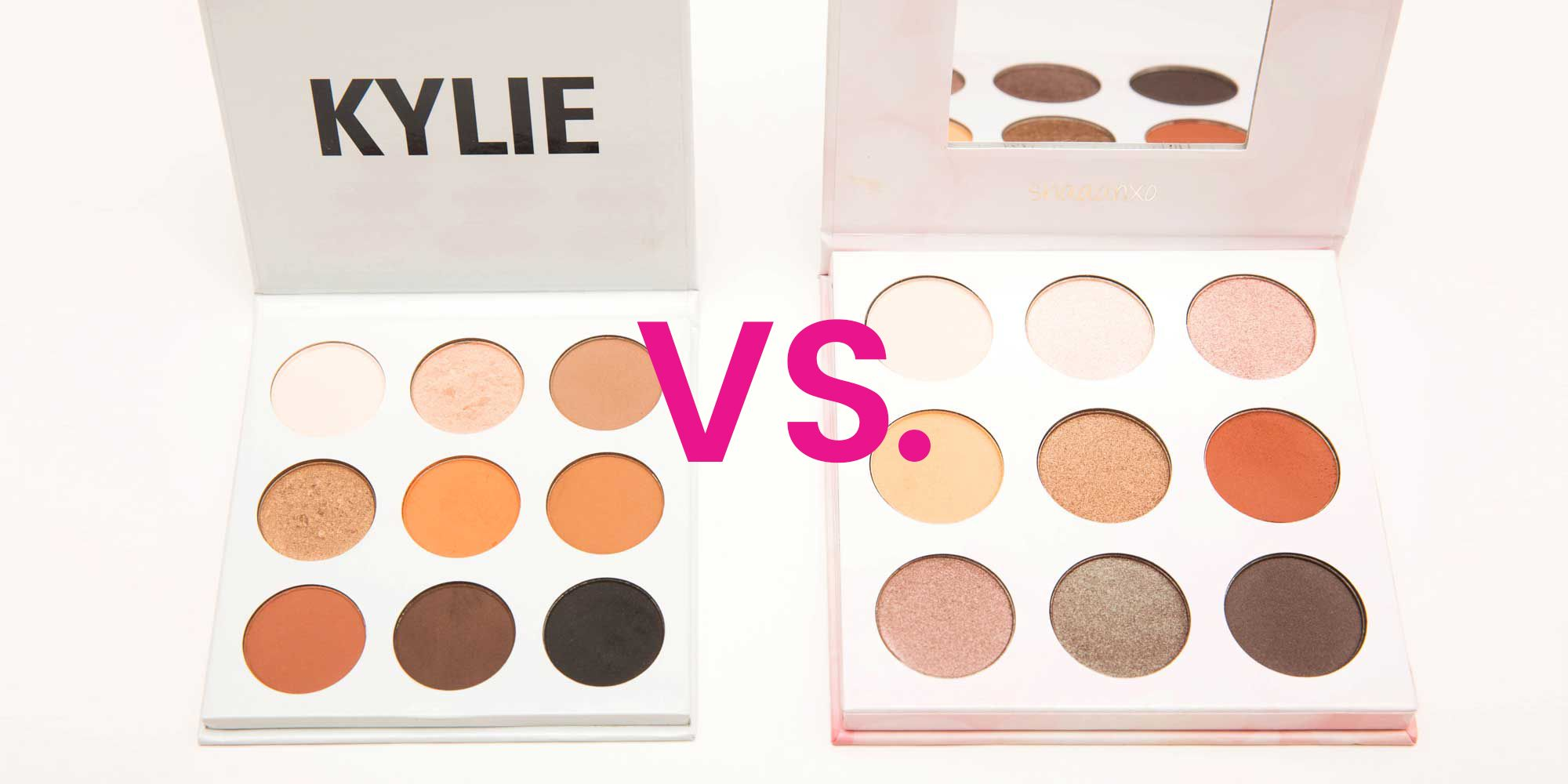 I Compared Kylie Jenner's Eye Shadow Palette to the One Twitter Said She Copied. Here's What Happened.