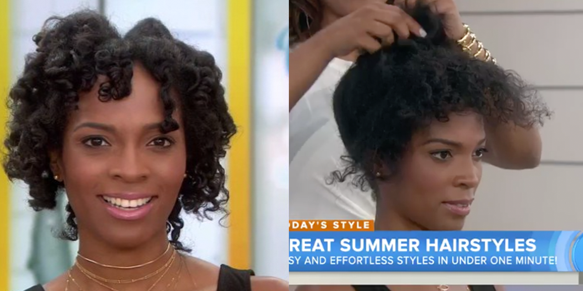 Today Show Hairstylist Slammed For Terribly Styling Woman S Natural Hair