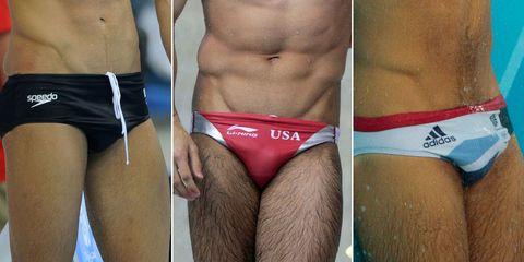 Swimsuit bottom, Undergarment, Thigh, Black, Muscle, Briefs, Undergarment, Tan, Underpants, Brassiere,