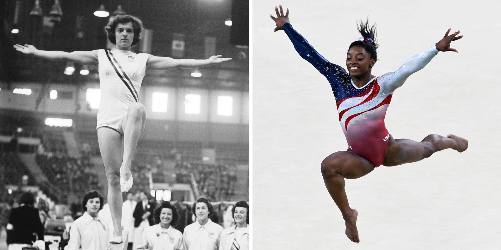 e9bd9d7ec605 Team USA s Olympic Gymnastics Uniforms Through the Years