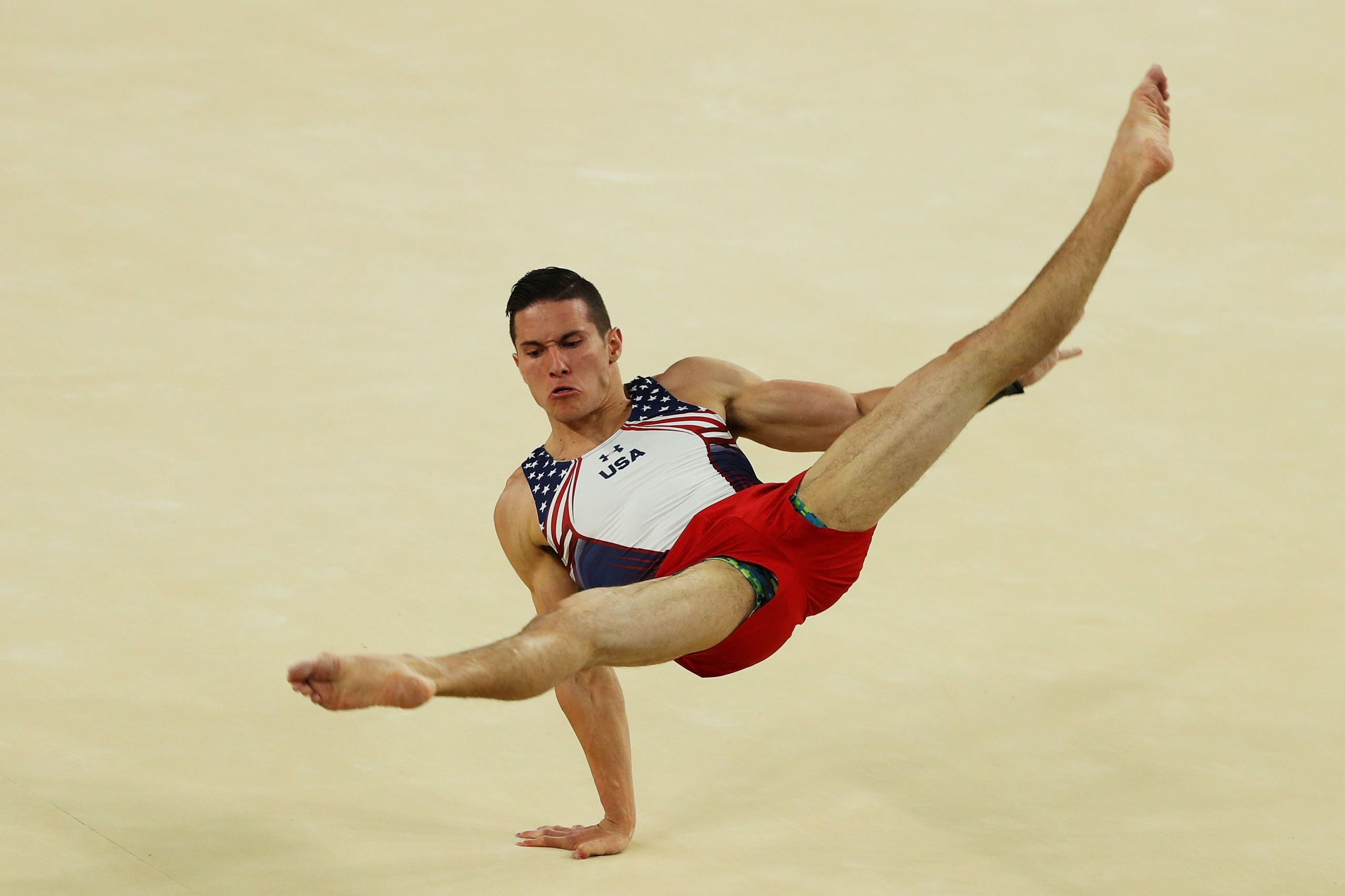 Why do girls when doing Gymnastics don't wear pants?