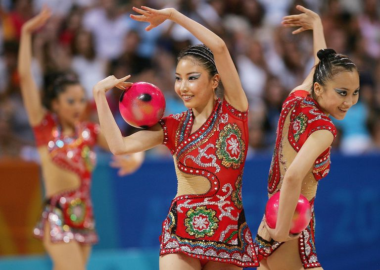 19 Nakedest Rhythmic Gymnastics Costumes In Olympic History-4775