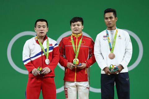 Award, Medal, Collar, Sports uniform, Sportswear, Gold medal, Uniform, Playing sports, Championship, World,