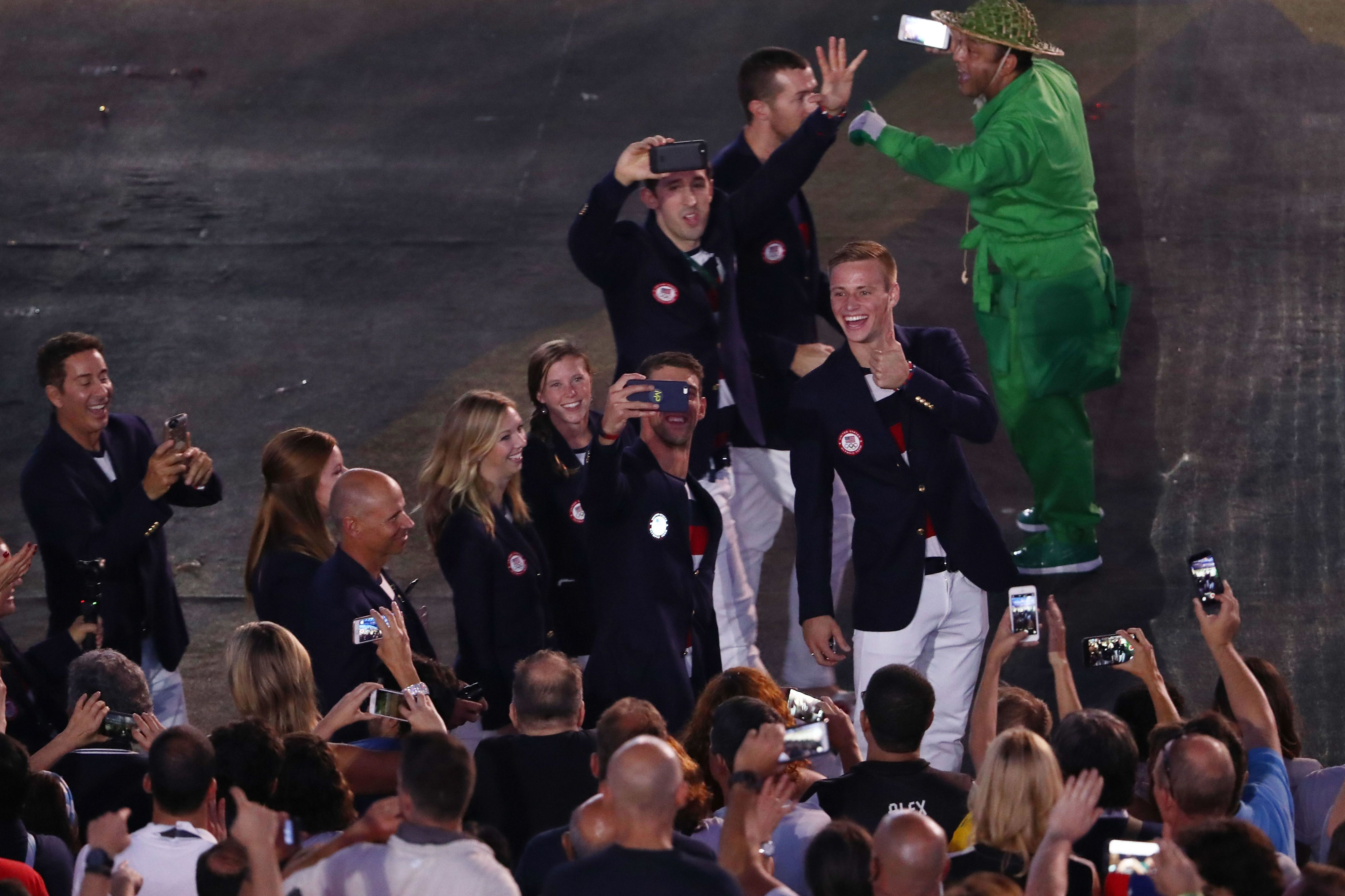 Olympians using app to hook up