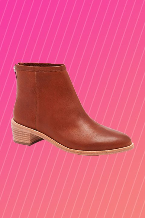 """<p>Ankle boots are a fall favorite for a reason. They pair perfectly with skinny jeans, cropped jeans, and, if you go for a pair with a more pointed toe, even flares. Seriously, they can do it all! </p><p><em><a href=""""http://www.loefflerrandall.com/felix-ac-cog-bootie-12.html"""" target=""""_blank"""">Felix Ankle Bootie</a>, LOEFFLER RANDALL, $395</em></p>"""