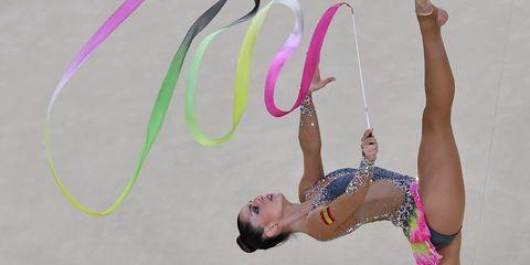 Pink, Elbow, Swimwear, Waist, Maillot, Balance, One-piece swimsuit, Liquid bubble,