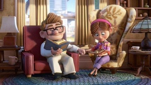 Animation, Sitting, Animated cartoon, Toy, Lamp, Figurine, Lap, Fictional character, Fiction, Living room,