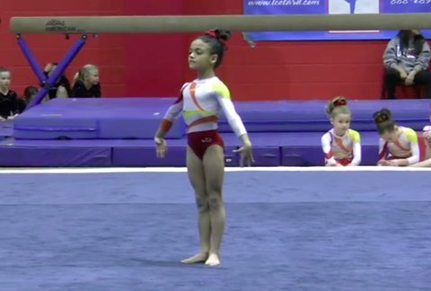 Adorable Video of Baby Laurie Hernandez