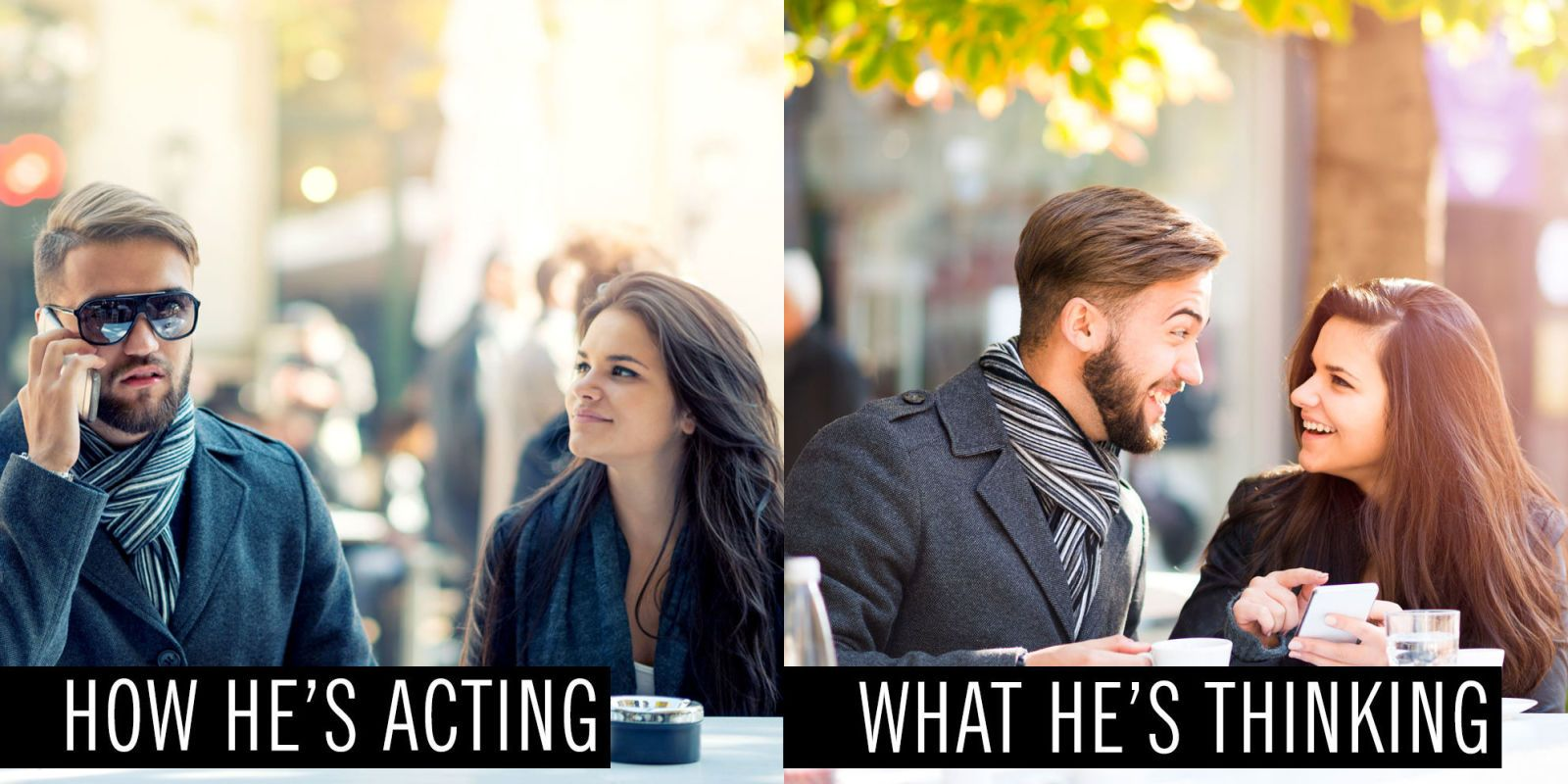 10 Things He's Dying to Ask You on a First Date but Doesn't