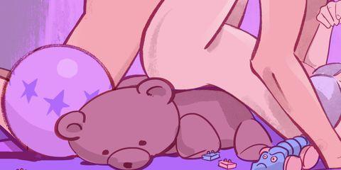 Pink, Red, Purple, Snout, Violet, Cartoon, Suidae, Peach, Animated cartoon, Animation,
