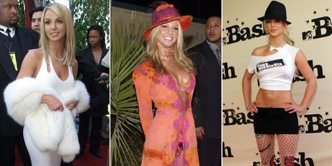 793b8f31ead Britney Spears Through the Years - Britney Spears s Craziest Looks