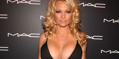 Pamela Anderson young  Pamela Anderson Breast reduction TheGloss