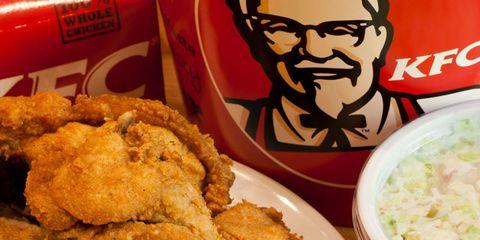 KFC breakup lady.