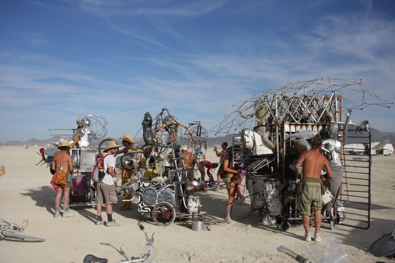 Participants at Burning Man 2008. & What is Burning Manu0027s Orgy Dome - Stories From The Orgy Tent At ...