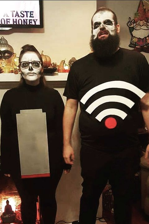 battery low costume