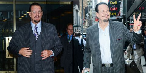 How Magician Penn Jillette Lost 100 Pounds Eating Only 2 Things
