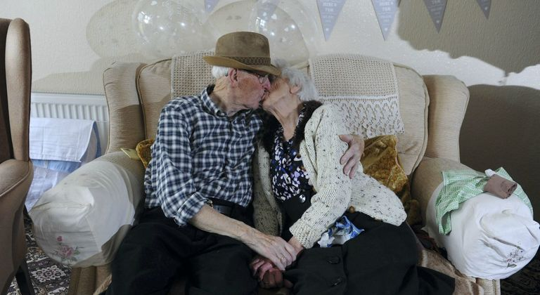 He Fell for Her When They Were 9 — 84 Years Later, They're Still in Love