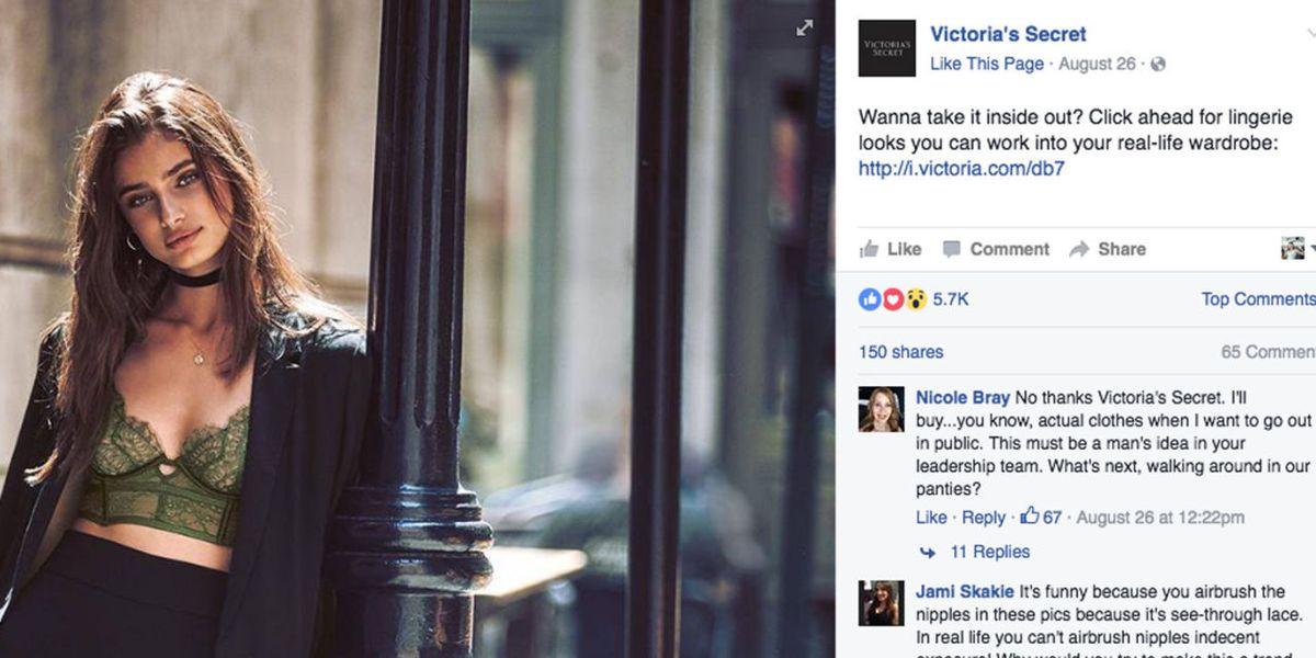 9d8eea3656 Victoria s Secret Campaign Advises Lingerie as Outerwear- Should You Wear  Lingerie to Work