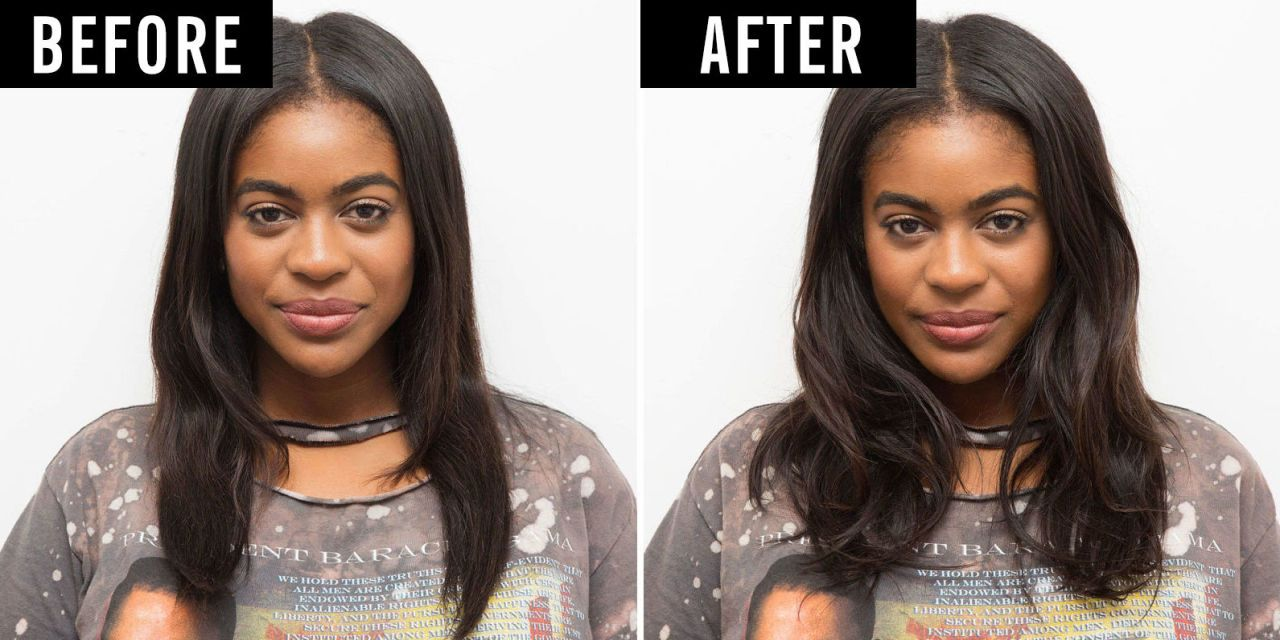 How to make thin hair look thicker in a ponytail