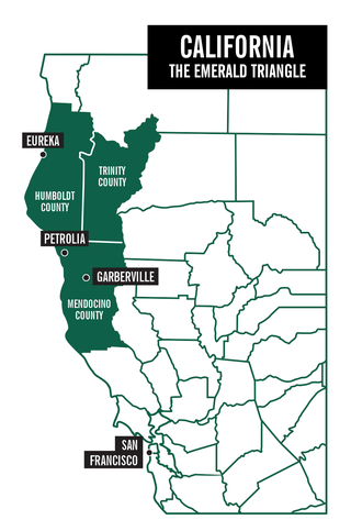 ual Abuse in California's 'Emerald Triangle' Marijuana ... on map of forest fires, map of ambergris, map of bay village, map of log country cove,