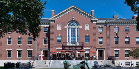 Window, Building, Brick, Sash window, Brickwork, Mixed-use, Sculpture, Stairs, Campus, North american fraternity and sorority housing,