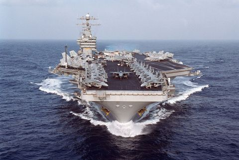 An American Sailor Didn't Know She Was Pregnant Until She Gave Birth on an Aircraft Carrier