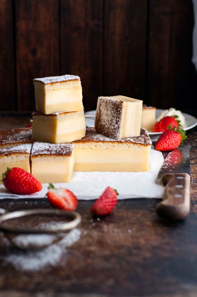This 3-in-1 Magic Cake Will Blow Your Mind