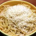 <p><strong>What You Need</strong>: Noodles, butter, and cheese</p>