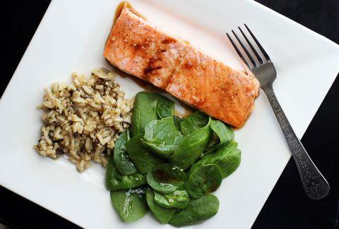 Food, Cuisine, Dishware, Ingredient, Tableware, Dish, Plate, Kitchen utensil, Leaf vegetable, Cutlery,