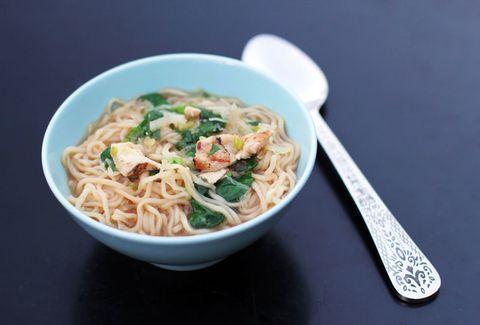Food, Cuisine, Noodle, Ingredient, Soup, Chinese noodles, Dish, Al dente, Noodle soup, Pasta,