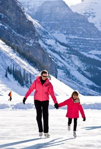 "The best part of this workout is that more than anything, it's a timeless family activity, meaning you get the two-for-one benefit of a calorie-burn and not-so-gracefully gliding around with your kids. ""Ice skating requires balance and alignment, and works the inner and outer thighs, glutes, and ankles,"" says Joan Pagano, author of Strength Training for Women. ""A 145-pound woman would burn about 230 calories in 30 minutes."" To challenge yourself further—and perhaps impress your family and friends—try landing a jump, doing an axel, or executing some fancy footwork."