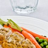 Meet the ultimate wonder food. Chicken is packed with protein, which is essential for maintaining muscle mass—and the more muscle mass you have, the more efficient you are at burning calories. Even better, protein takes more time to digest than carbohydrates, so you'll feel full longer than if you ate the same number of calories in a carb—or fat-heavy meal. An ideal serving: the size of a computer mouse or a deck of cards.