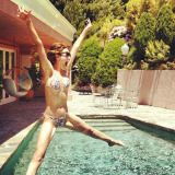 We love this pic of Emmy Rossum because it just looks...fun. Sure, she looks hot, but that's secondary to the fact that she's obviously having a good time.